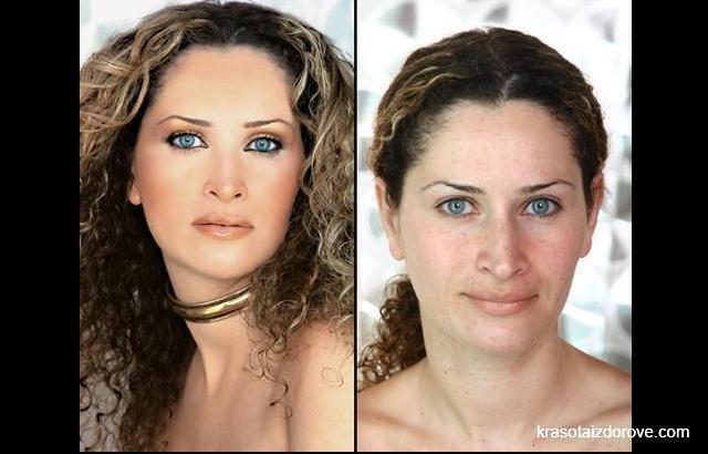 Девушки в 30 лет без макияжа
